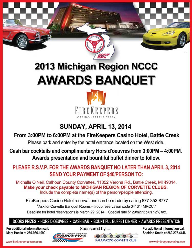 Michigan Region NCCC Awards Banquet