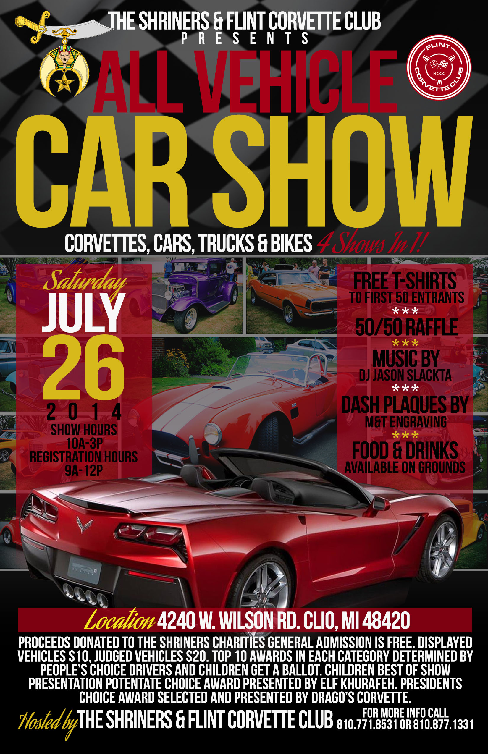 u00bb 2014 car show flyer