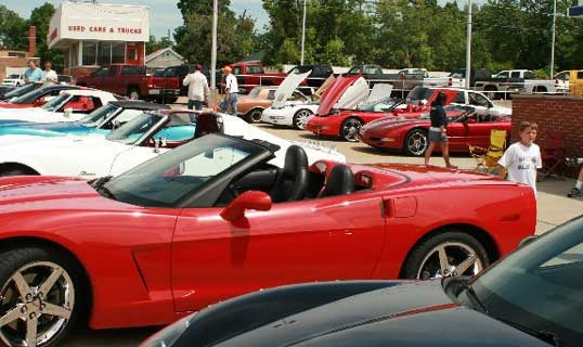 Flint Corvette club events