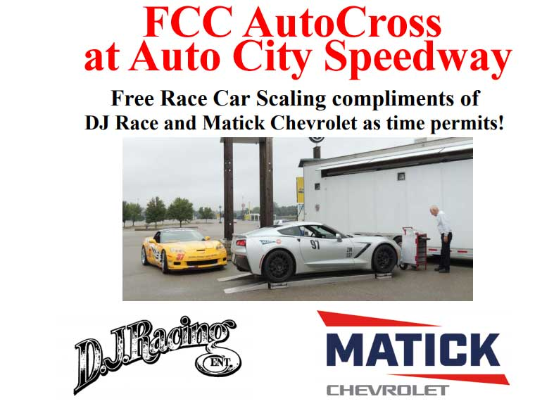 FCC Autocross at Auto City Speedway